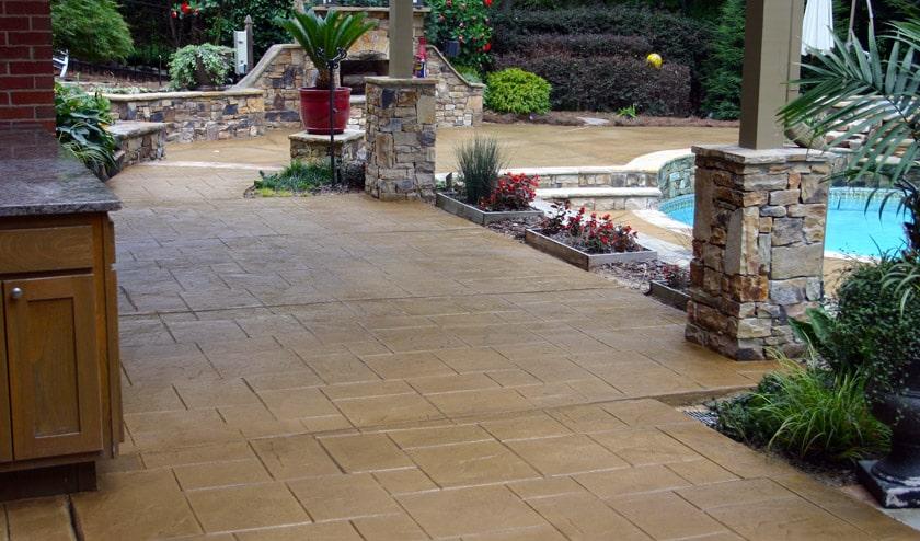 Patios & Pool Decks - Dallas Concrete Contractor